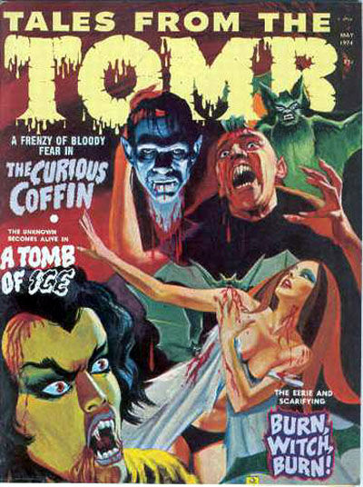 Cover for Tales from the Tomb (Eerie Publications, 1969 series) #v6#3