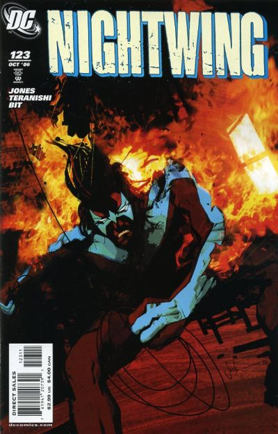 Cover for Nightwing (DC, 1996 series) #123