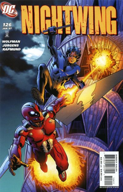 Cover for Nightwing (DC, 1996 series) #126
