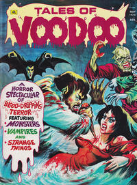 Cover Thumbnail for Tales of Voodoo (Eerie Publications, 1968 series) #v6#3