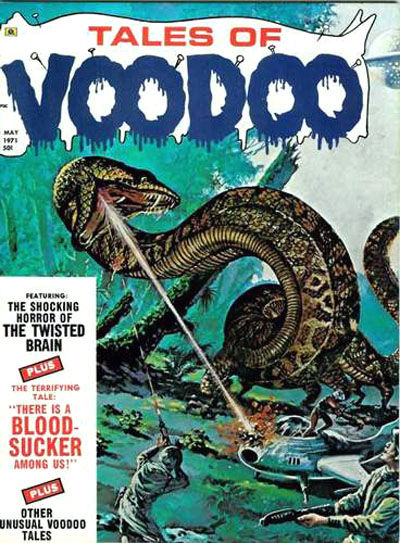 Cover for Tales of Voodoo (1968 series) #v4#3