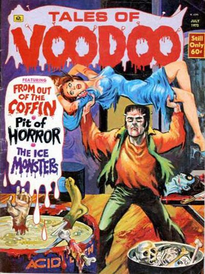 Cover for Tales of Voodoo (1968 series) #v6#4