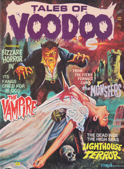 Cover for Tales of Voodoo (1968 series) #v7#6