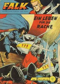Cover Thumbnail for Falk, Ritter ohne Furcht und Tadel (Lehning, 1963 series) #21