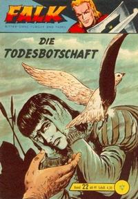 Cover Thumbnail for Falk, Ritter ohne Furcht und Tadel (Lehning, 1963 series) #22