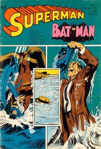 Cover Thumbnail for Superman (Egmont Ehapa, 1966 series) #1/1970