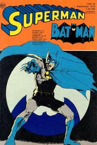 Cover Thumbnail for Superman (Egmont Ehapa, 1966 series) #18/1973