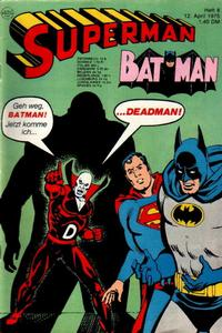 Cover Thumbnail for Superman (Egmont Ehapa, 1966 series) #8/1975