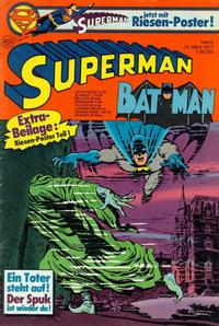 Cover Thumbnail for Superman (Egmont Ehapa, 1966 series) #6/1977
