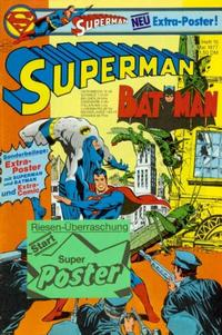 Cover Thumbnail for Superman (Egmont Ehapa, 1966 series) #10/1977