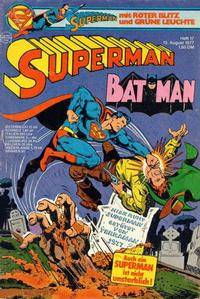 Cover Thumbnail for Superman (Egmont Ehapa, 1966 series) #17/1977