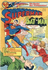 Cover Thumbnail for Superman (Egmont Ehapa, 1966 series) #15/1979
