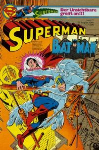 Cover Thumbnail for Superman (Egmont Ehapa, 1966 series) #17/1980
