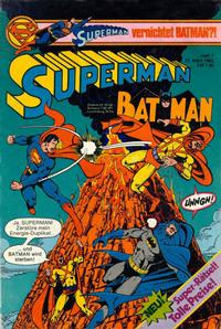 Cover Thumbnail for Superman (Egmont Ehapa, 1966 series) #7/1982