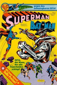 Cover Thumbnail for Superman (Egmont Ehapa, 1966 series) #9/1984