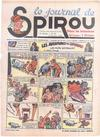Cover for Le Journal de Spirou (Dupuis, 1938 series) #42/1939