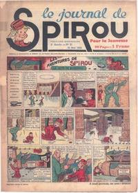 Cover Thumbnail for Le Journal de Spirou (Dupuis, 1938 series) #21/1939