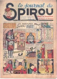 Cover Thumbnail for Le Journal de Spirou (Dupuis, 1938 series) #32/1939