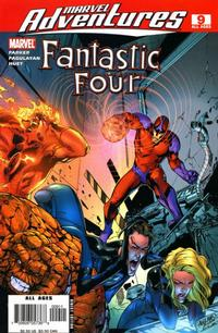 Cover for Marvel Adventures Fantastic Four (Marvel, 2005 series) #9