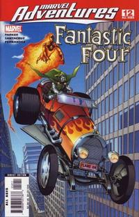 Cover Thumbnail for Marvel Adventures Fantastic Four (Marvel, 2005 series) #12