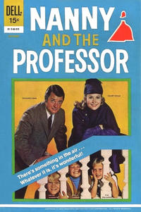 Cover Thumbnail for Nanny and the Professor (Dell, 1970 series) #2