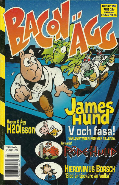 Cover for Bacon & Ägg (Semic, 1995 series) #3/1996
