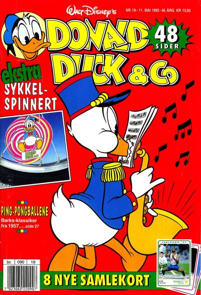 Cover for Donald Duck & Co (Hjemmet, 1948 series) #19/1993