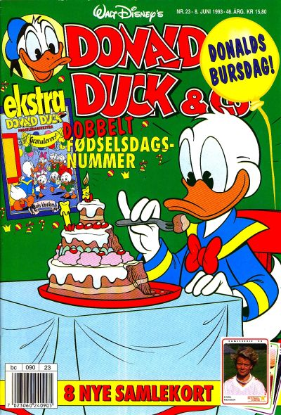 Cover for Donald Duck & Co (Hjemmet, 1948 series) #23/1993