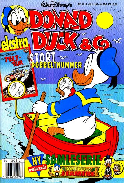 Cover for Donald Duck & Co (Hjemmet, 1948 series) #27/1993