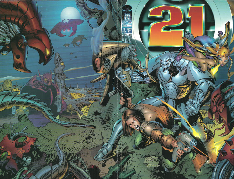 Cover for 21 (Image, 1996 series) #1