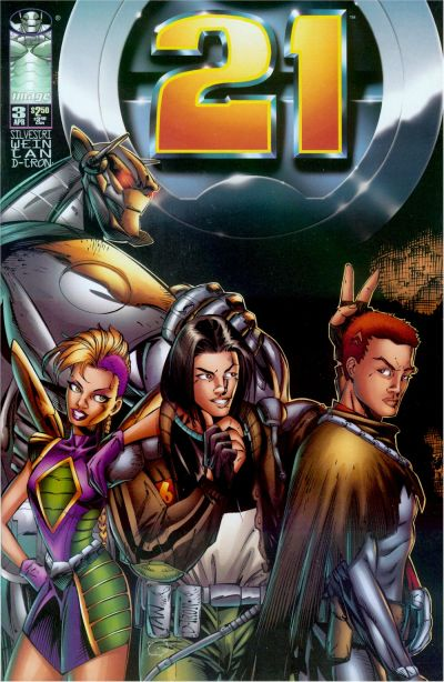 Cover for 21 (Image, 1996 series) #3