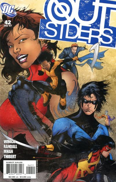 Cover for Outsiders (2003 series) #42