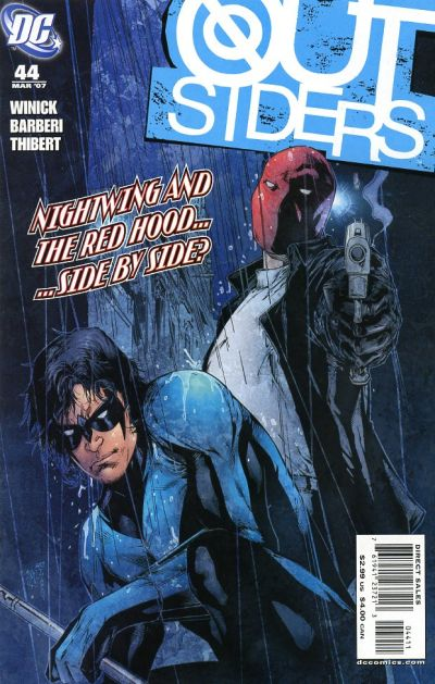 Cover for Outsiders (DC, 2003 series) #44