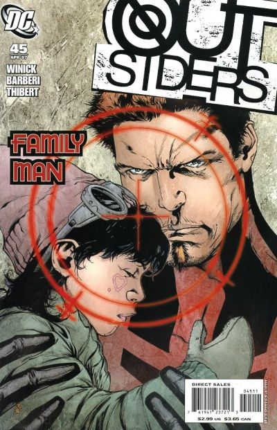 Cover for Outsiders (DC, 2003 series) #45