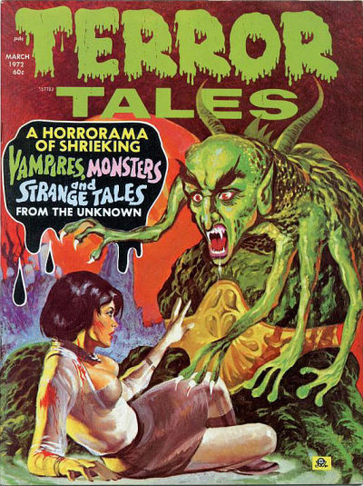 Cover for Terror Tales (Eerie Publications, 1969 series) #v4#2