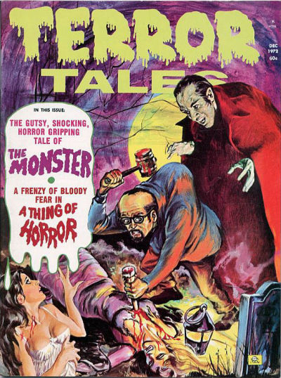Cover for Terror Tales (Eerie Publications, 1969 series) #v4#7