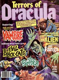 Cover for Terrors of Dracula (Eerie Publications, 1979 series) #v1#5