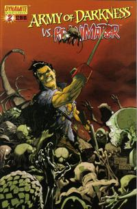 Cover for Army of Darkness (Dynamite Entertainment, 2005 series) #2 [Cover B]