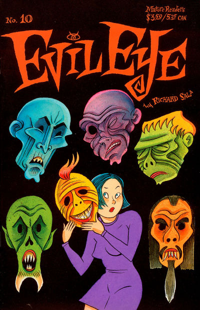 Cover for Evil Eye (Fantagraphics, 1998 series) #10