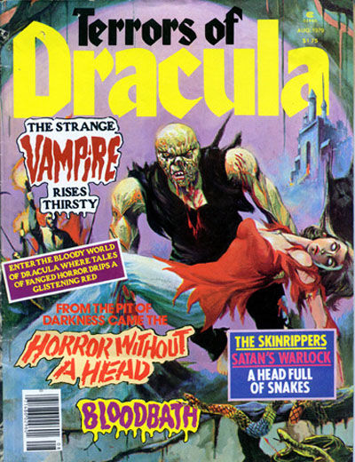 Cover for Terrors of Dracula (Eerie Publications, 1979 series) #v1#4