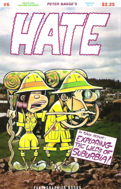 Cover for Hate (Fantagraphics, 1990 series) #6
