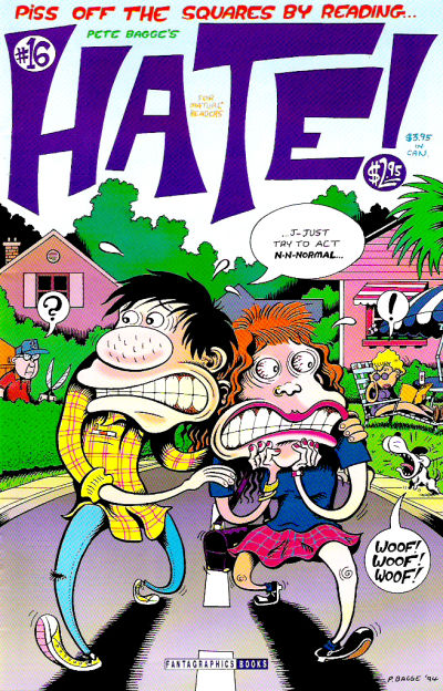 Cover for Hate (Fantagraphics, 1990 series) #16