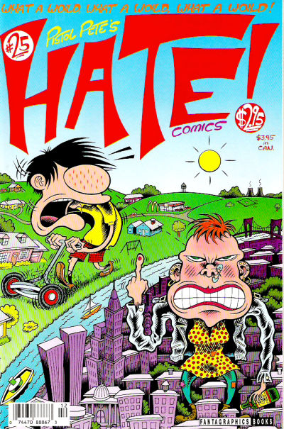 Cover for Hate (Fantagraphics, 1990 series) #25