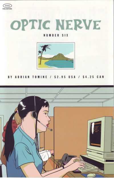 Cover for Optic Nerve (Drawn & Quarterly, 1995 series) #6