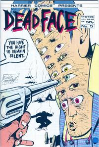 Cover Thumbnail for Deadface (Harrier, 1987 series) #5