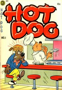 Cover Thumbnail for Hot Dog (Magazine Enterprises, 1954 series) #1 [A-1 #107]
