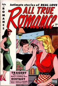 Cover Thumbnail for All True Romance (Comic Media, 1951 series) #12