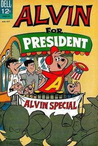 Cover for Alvin for President (Dell, 1964 series) #1