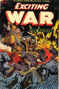 Cover Thumbnail for Exciting War (Standard, 1952 series) #7