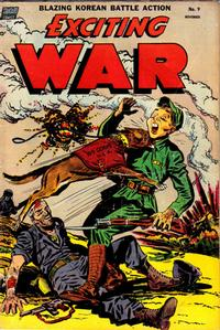 Cover Thumbnail for Exciting War (Standard, 1952 series) #9